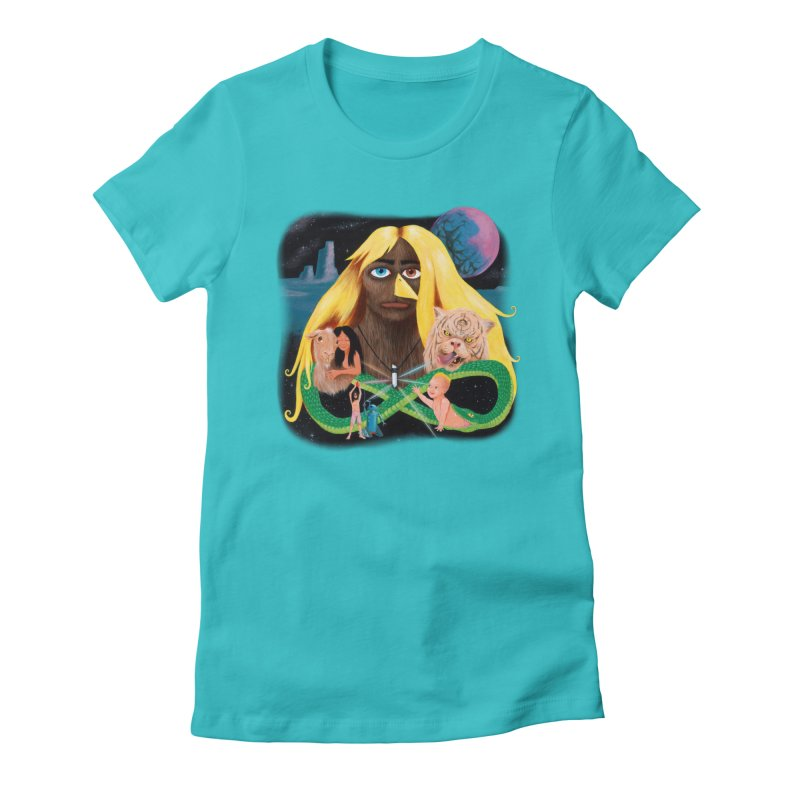 Xavier Renegade Angel deluxe Women's Fitted T-Shirt by Jim Tozzi