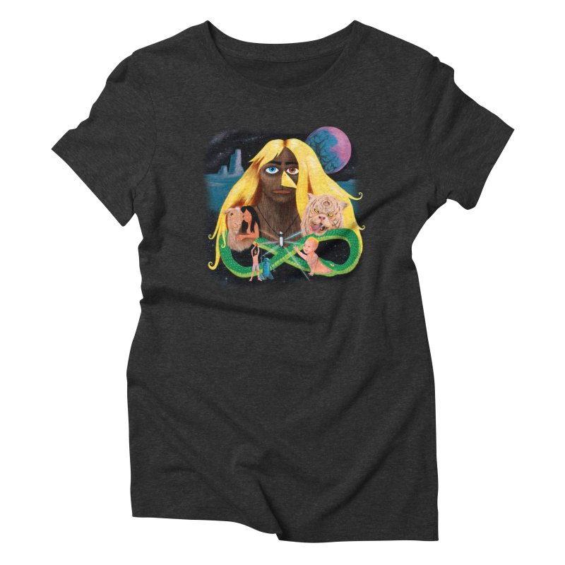 Xavier Renegade Angel deluxe Women's Triblend T-Shirt by Jim Tozzi