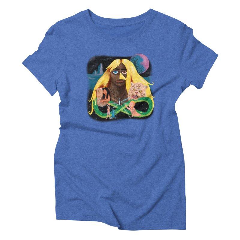 Xavier Renegade Angel deluxe Women's Triblend T-Shirt by Jim Tozzi