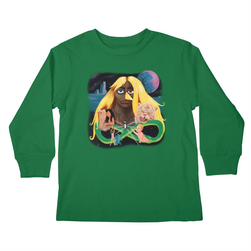 Xavier Renegade Angel deluxe Kids Longsleeve T-Shirt by Jim Tozzi