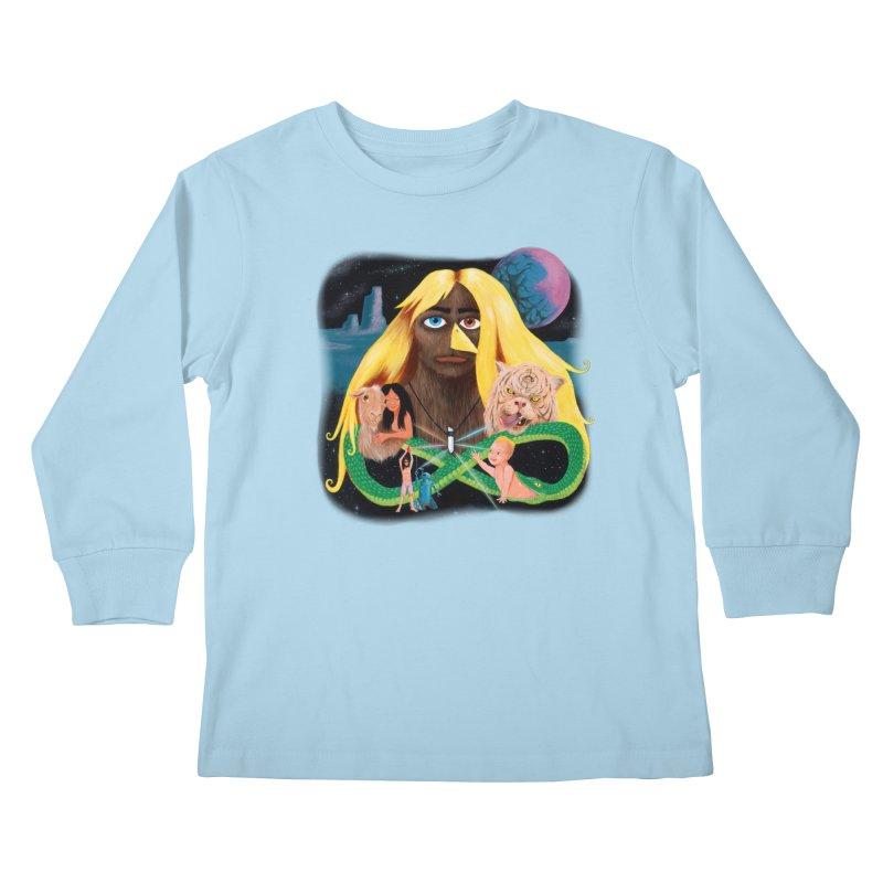 Xavier Renegade Angel deluxe Kids Longsleeve T-Shirt by Jim Tozzi
