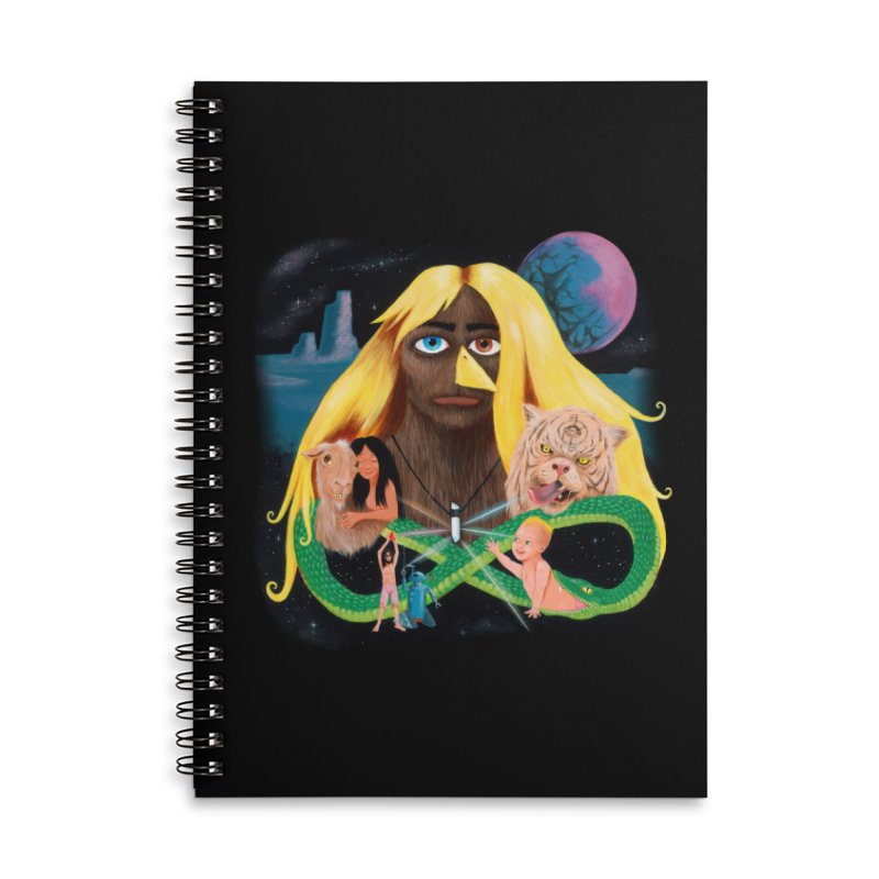 Xavier Renegade Angel deluxe Accessories Lined Spiral Notebook by Jim Tozzi