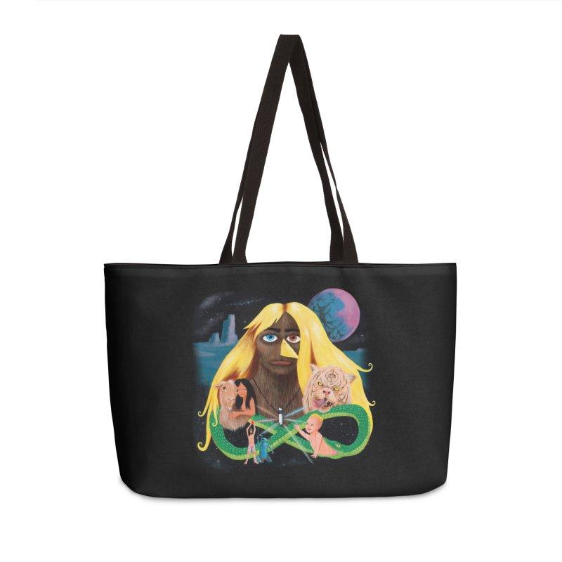 Xavier Renegade Angel deluxe Accessories Weekender Bag Bag by Jim Tozzi