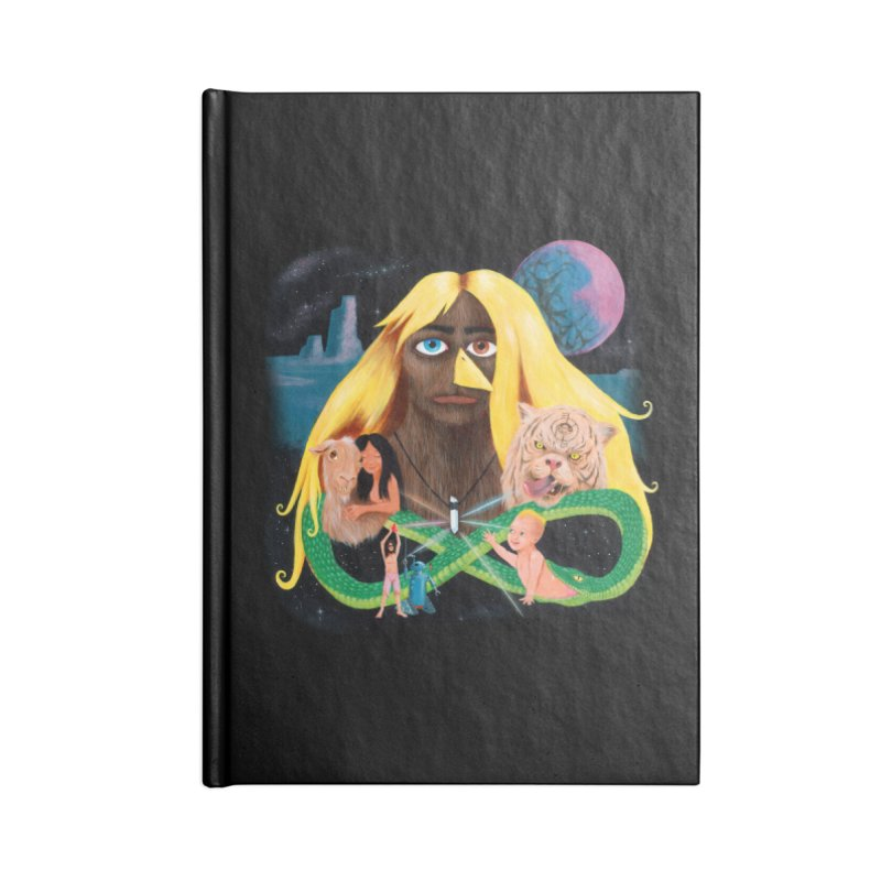 Xavier Renegade Angel deluxe Accessories Lined Journal Notebook by Jim Tozzi