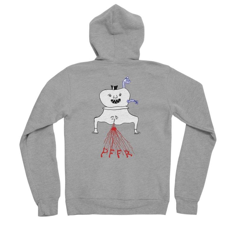 PFFR Men's Sponge Fleece Zip-Up Hoody by Jim Tozzi
