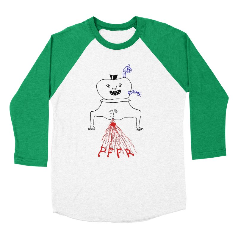 PFFR Women's Baseball Triblend Longsleeve T-Shirt by Jim Tozzi