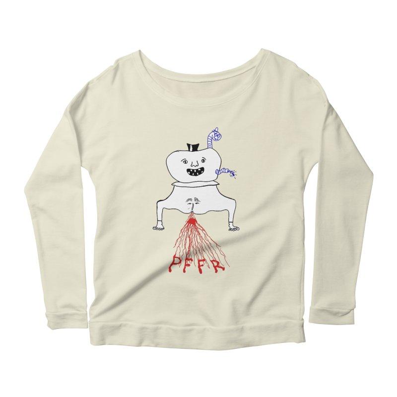 PFFR Women's Scoop Neck Longsleeve T-Shirt by Jim Tozzi