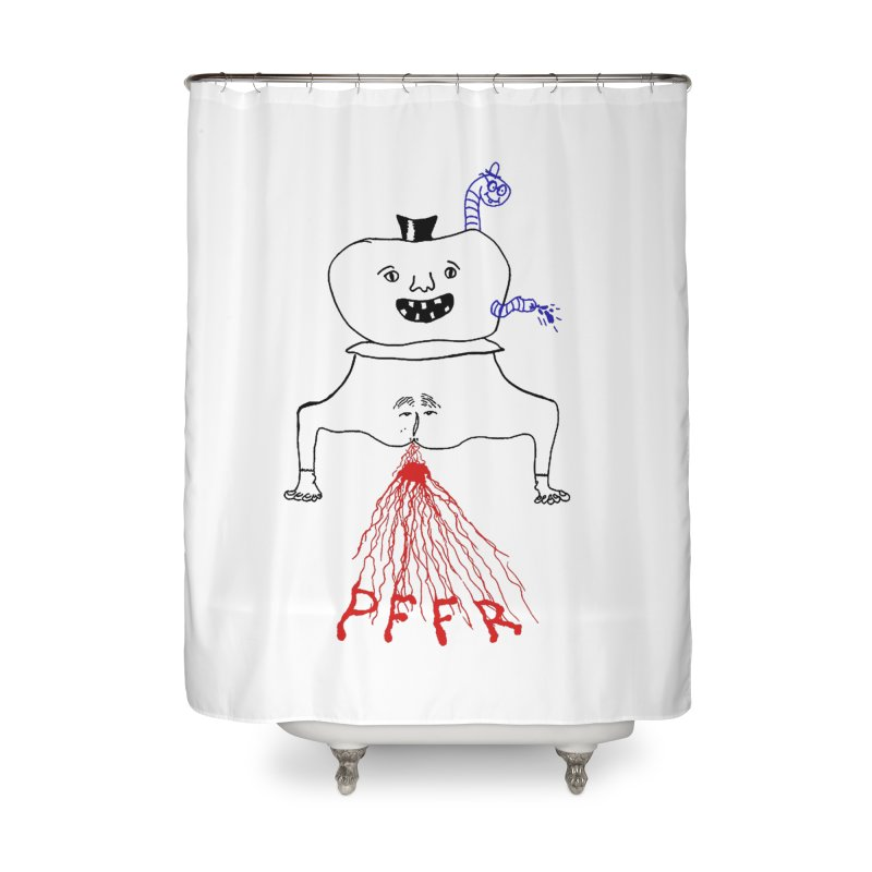 PFFR Home Shower Curtain by Jim Tozzi