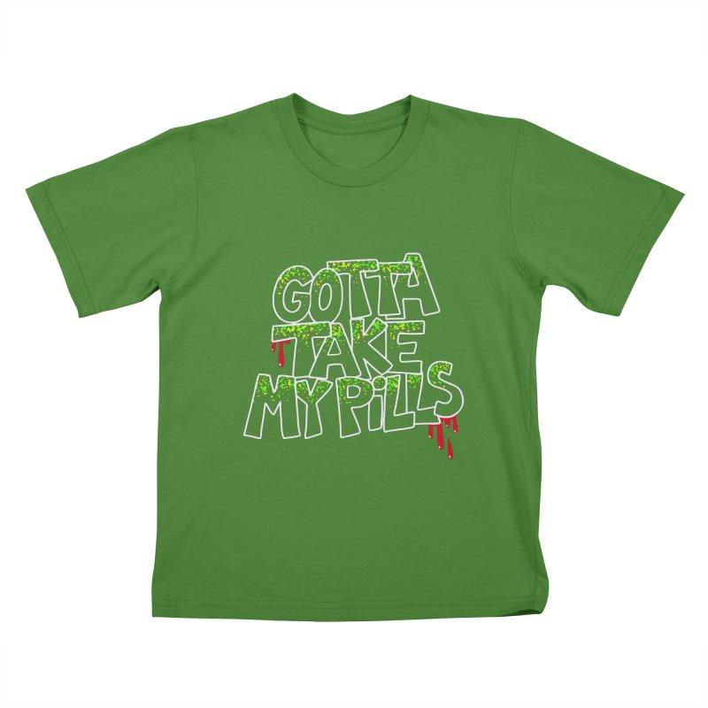 PILLS Kids T-shirt by Jim Tozzi