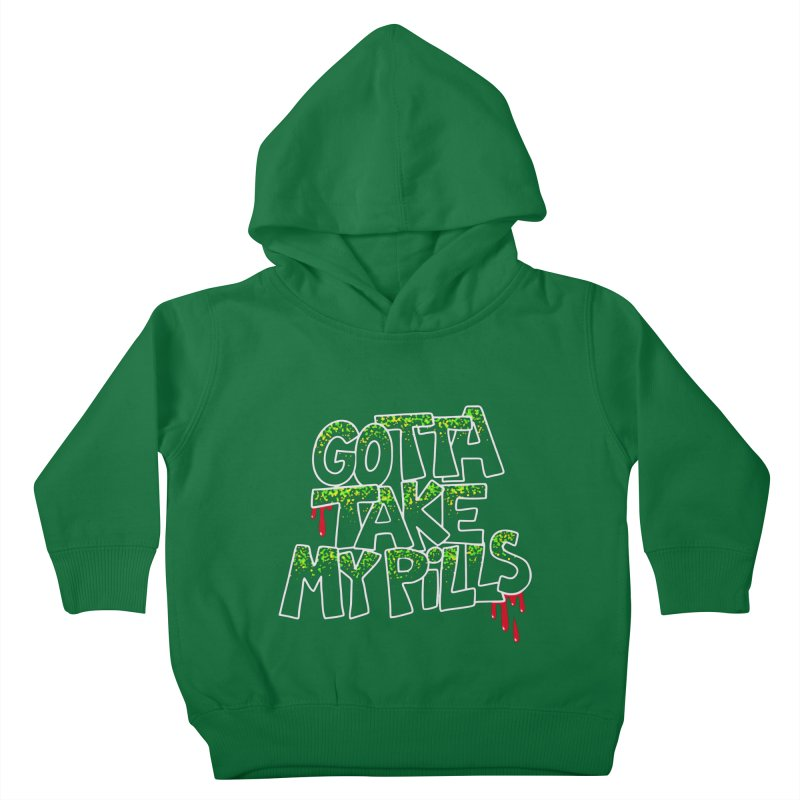 PILLS Kids Toddler Pullover Hoody by Jim Tozzi