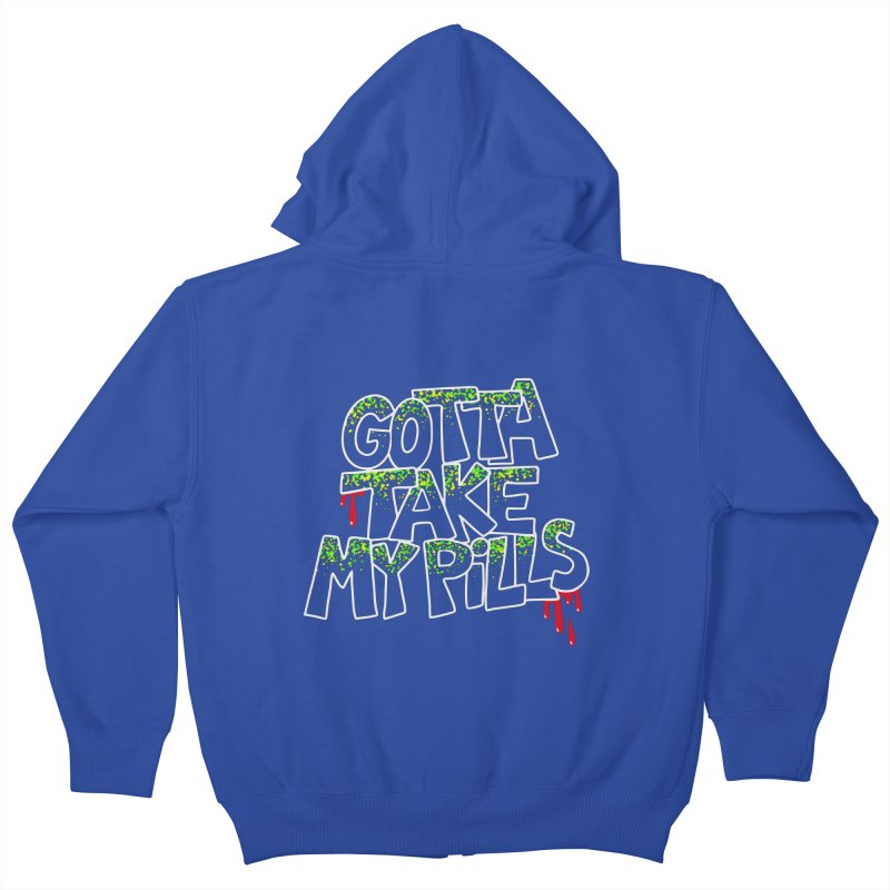 PILLS Kids Zip-Up Hoody by Jim Tozzi