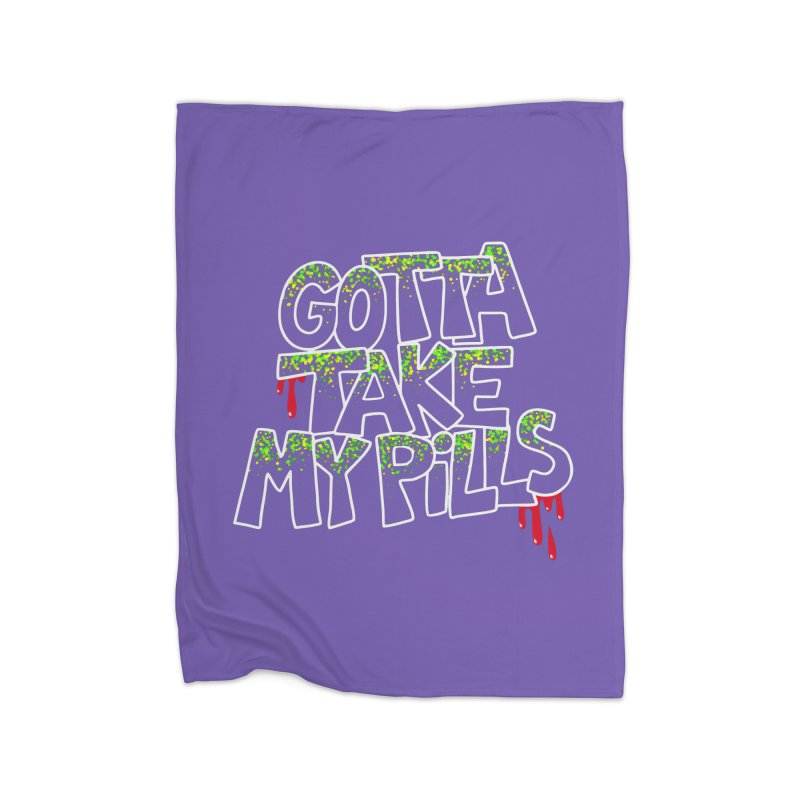 PILLS Home Blanket by Jim Tozzi