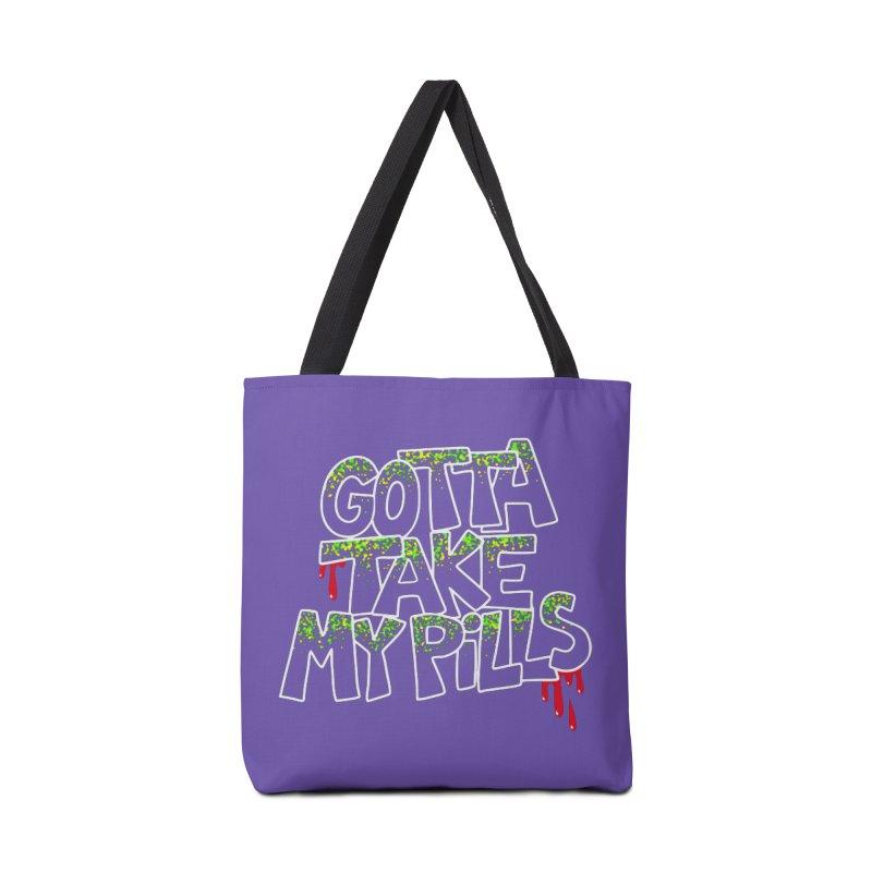 PILLS Accessories Bag by Jim Tozzi