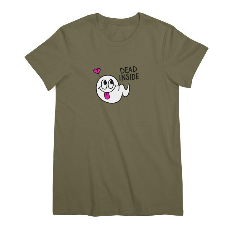 DEAD INSIDE Women's Premium T-Shirt by Jim Tozzi