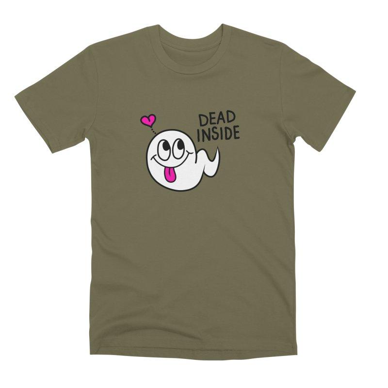 DEAD INSIDE Men's Premium T-Shirt by Jim Tozzi