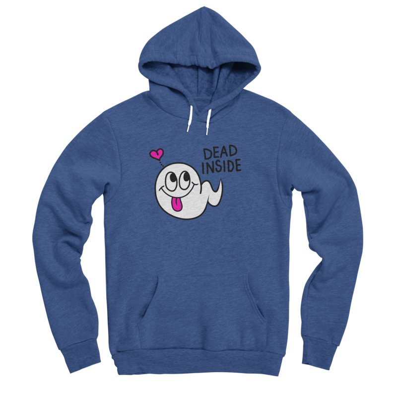 DEAD INSIDE Women's Sponge Fleece Pullover Hoody by Jim Tozzi