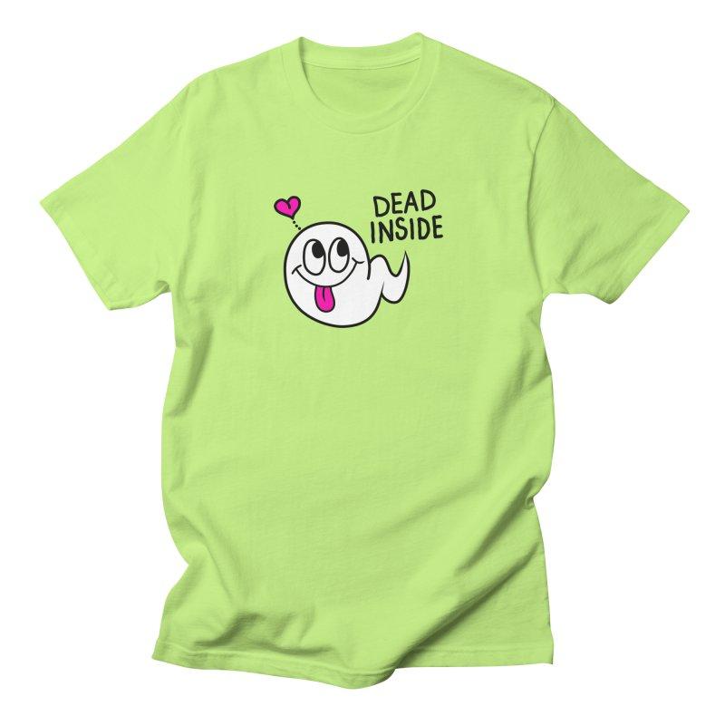 DEAD INSIDE Men's Regular T-Shirt by Jim Tozzi