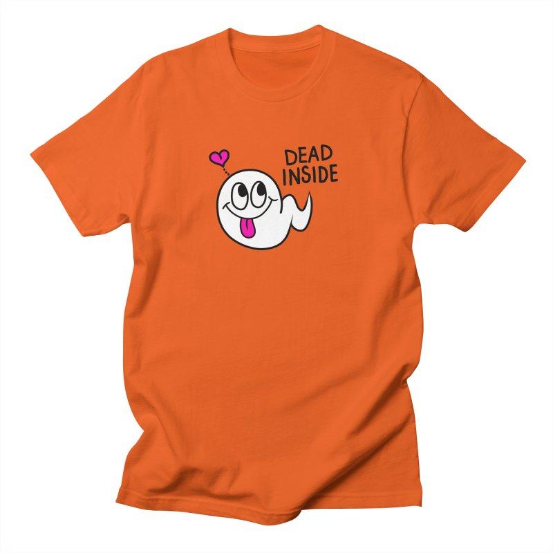 DEAD INSIDE Women's Regular Unisex T-Shirt by Jim Tozzi