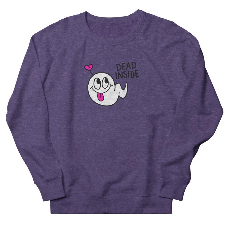 DEAD INSIDE Men's French Terry Sweatshirt by Jim Tozzi