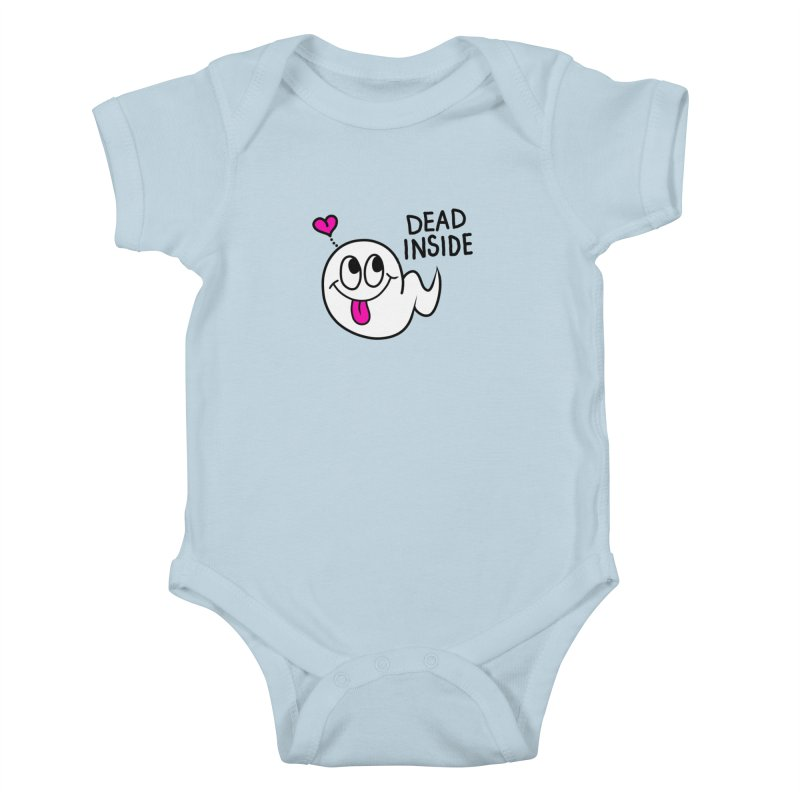 DEAD INSIDE Kids Baby Bodysuit by Jim Tozzi