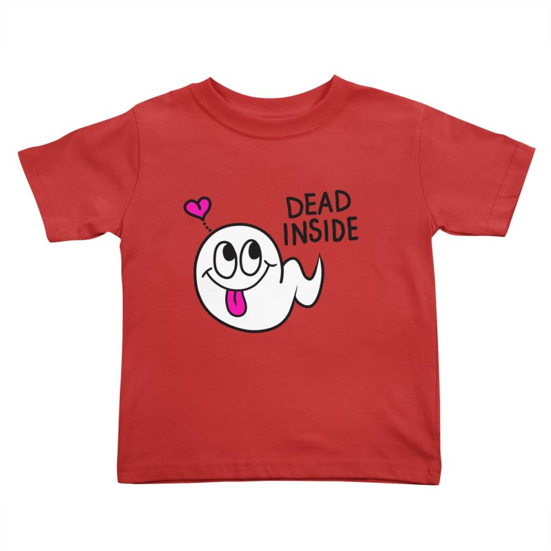DEAD INSIDE Kids Toddler T-Shirt by Jim Tozzi