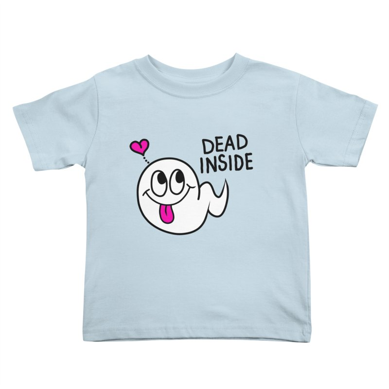 DEAD INSIDE Kids Toddler T-Shirt by Jim Tozzi