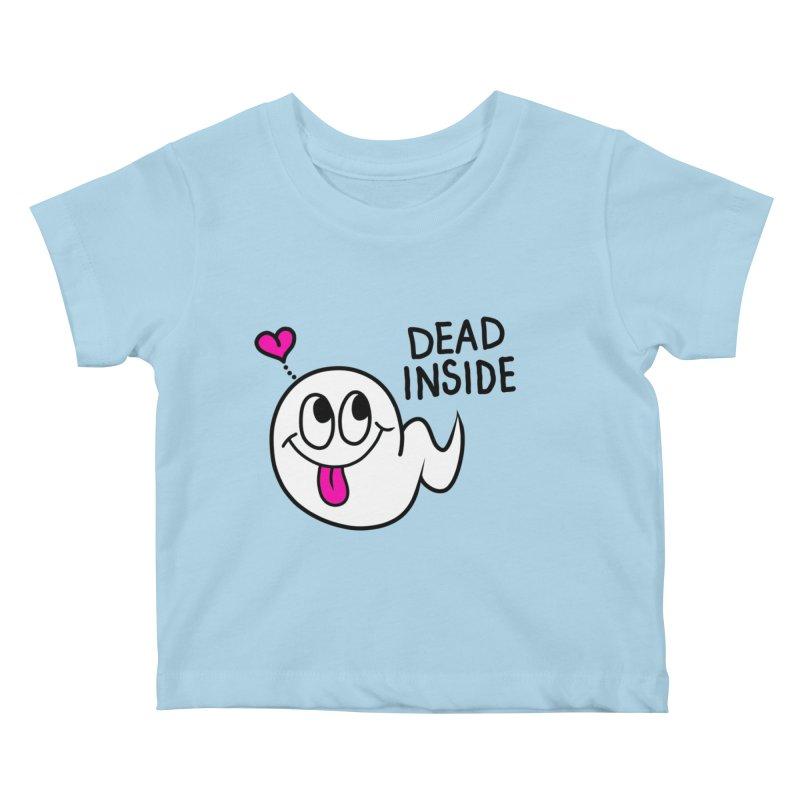 DEAD INSIDE Kids Baby T-Shirt by Jim Tozzi