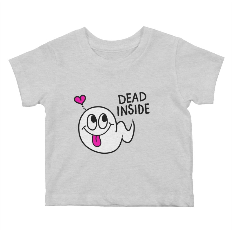 DEAD INSIDE Kids Baby T-Shirt by Jim Tozzi