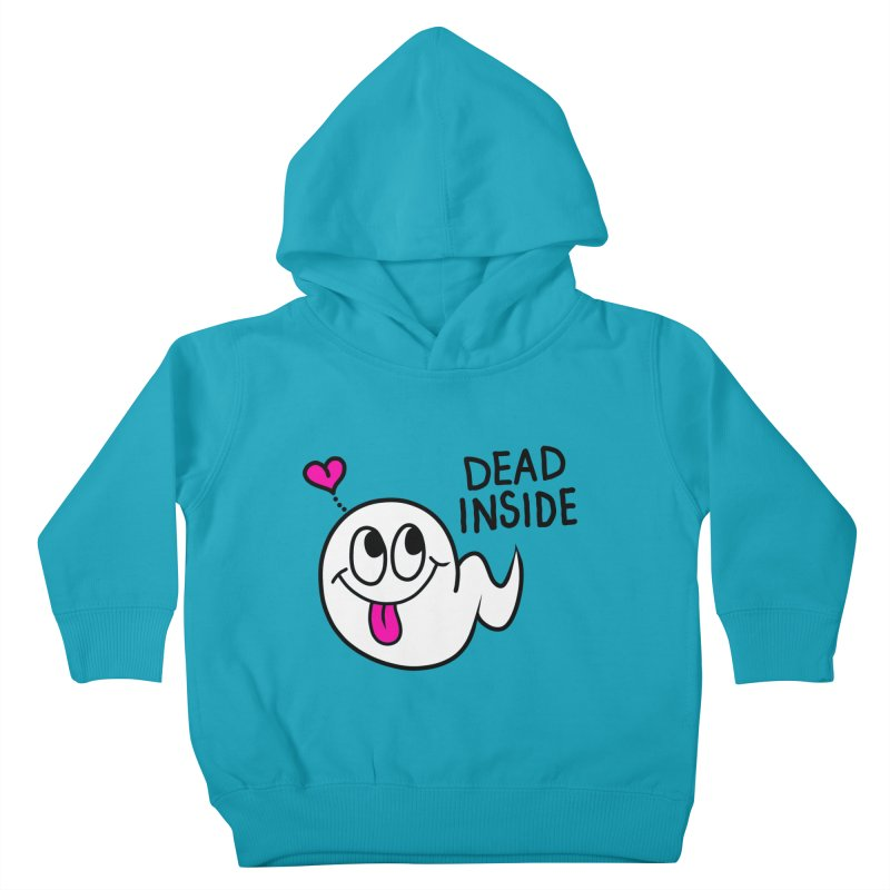DEAD INSIDE Kids Toddler Pullover Hoody by Jim Tozzi