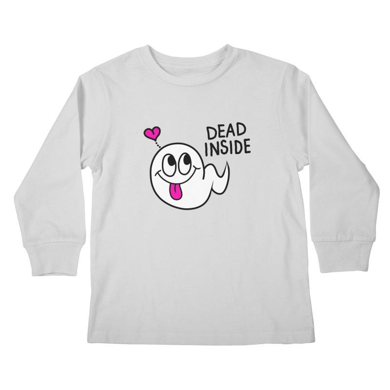 DEAD INSIDE Kids Longsleeve T-Shirt by Jim Tozzi
