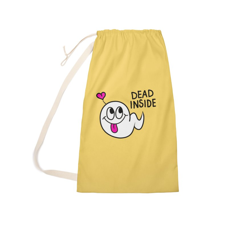DEAD INSIDE Accessories Laundry Bag Bag by Jim Tozzi