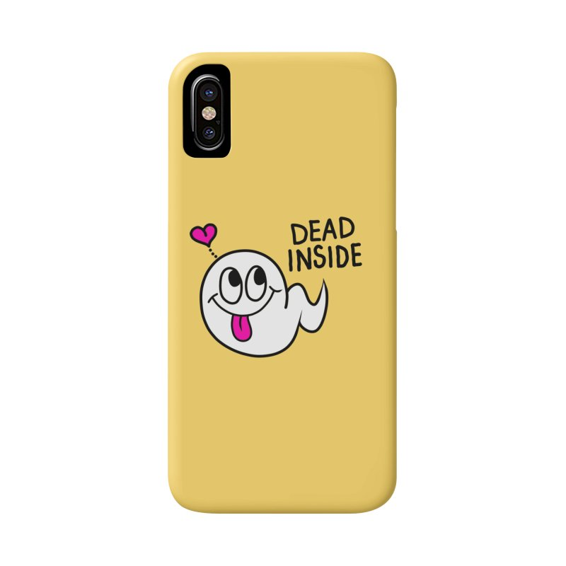 DEAD INSIDE Accessories Phone Case by Jim Tozzi