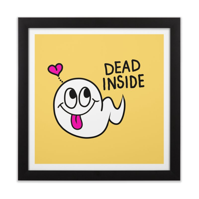 DEAD INSIDE Home Framed Fine Art Print by Jim Tozzi