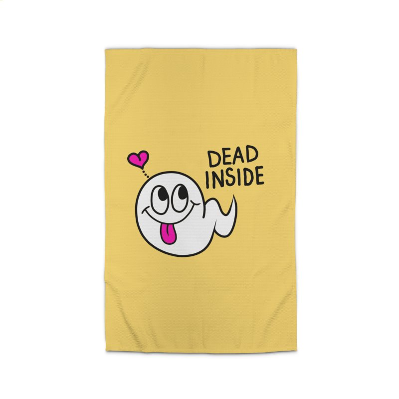 DEAD INSIDE Home Rug by Jim Tozzi
