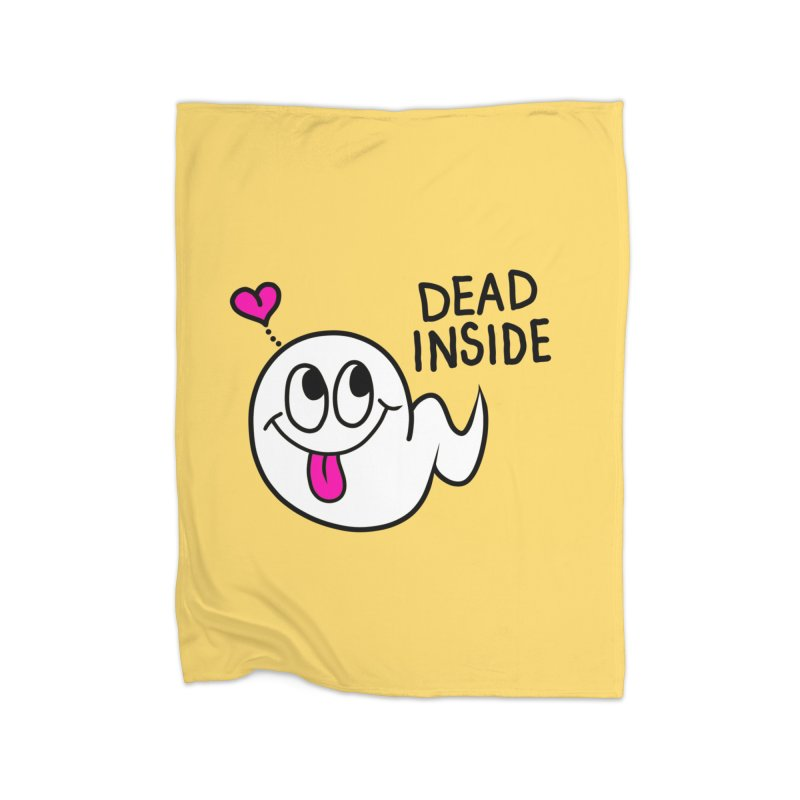 DEAD INSIDE Home Blanket by Jim Tozzi