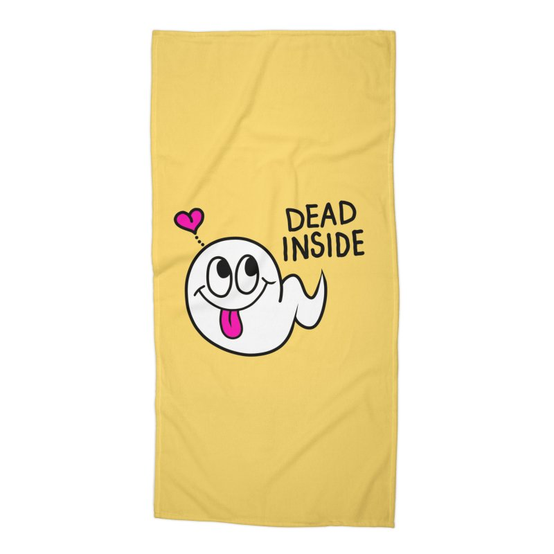 DEAD INSIDE Accessories Beach Towel by Jim Tozzi
