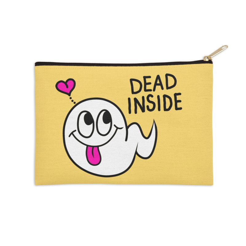 DEAD INSIDE Accessories Zip Pouch by Jim Tozzi