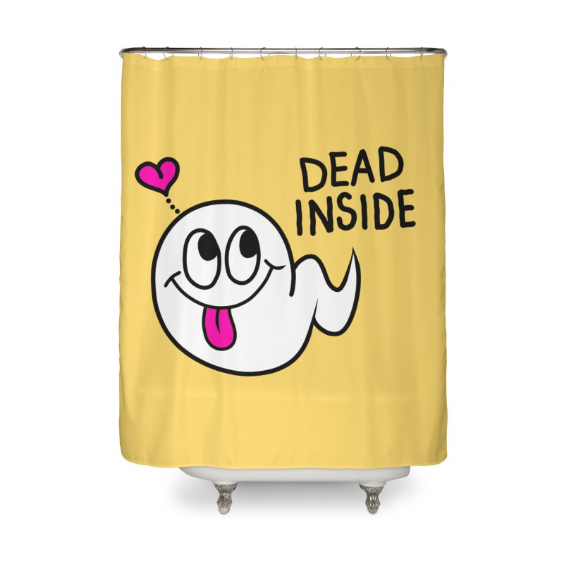 DEAD INSIDE Home Shower Curtain by Jim Tozzi