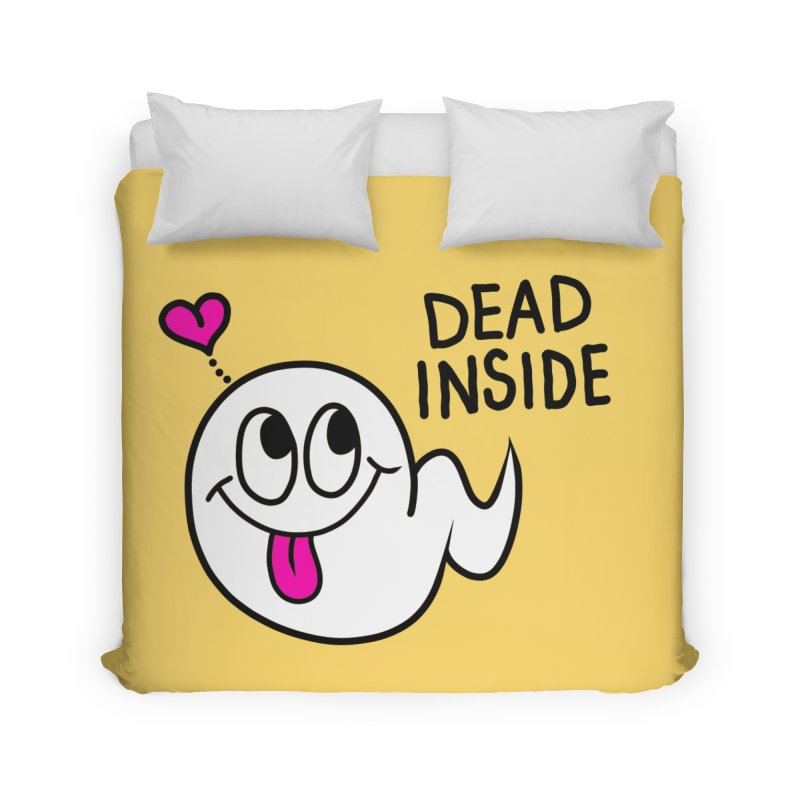DEAD INSIDE Home Duvet by Jim Tozzi