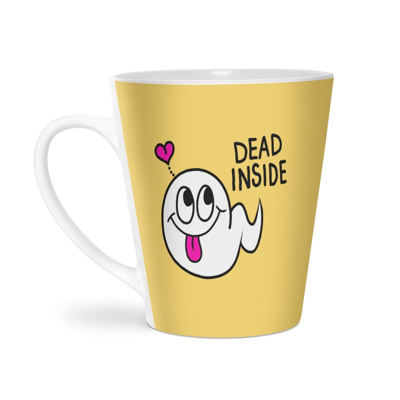 DEAD INSIDE Accessories Latte Mug by Jim Tozzi