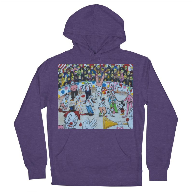 clowns Women's Pullover Hoody by Jim Tozzi