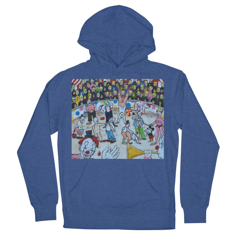 clowns Men's Pullover Hoody by Jim Tozzi