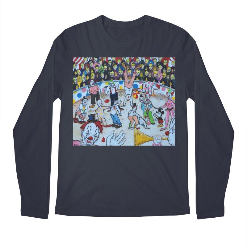 clowns Men's Longsleeve T-Shirt by Jim Tozzi