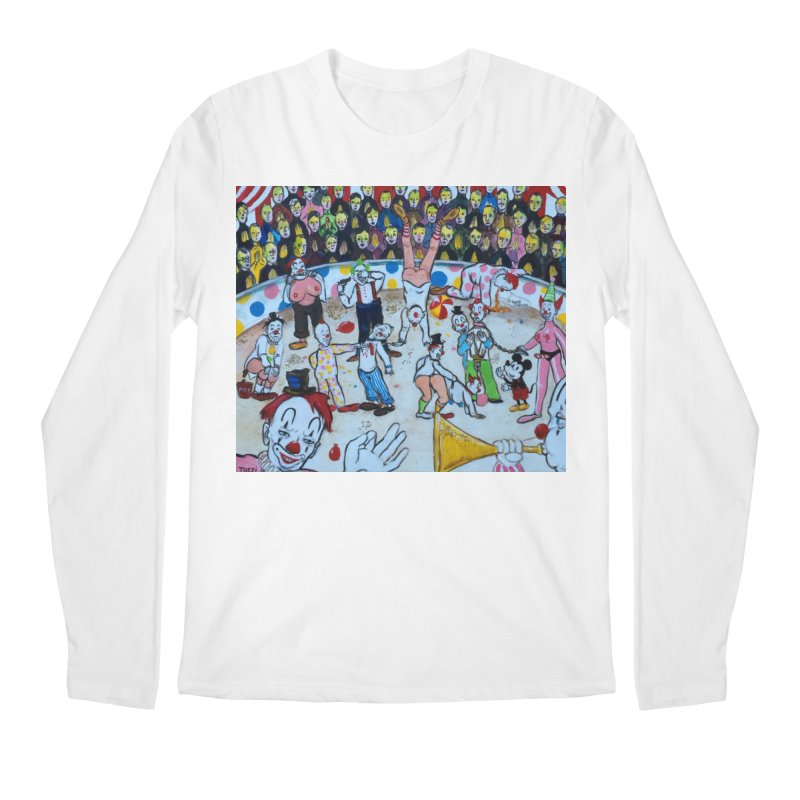 clowns Men's Longsleeve T-Shirt by Jim Tozzi
