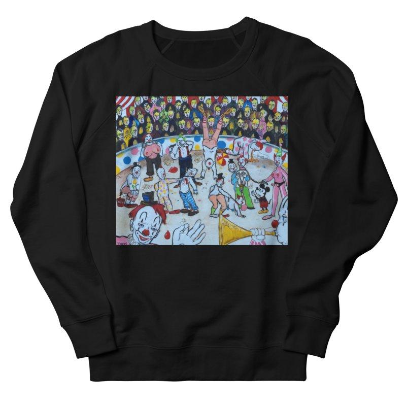 clowns Women's Sweatshirt by Jim Tozzi