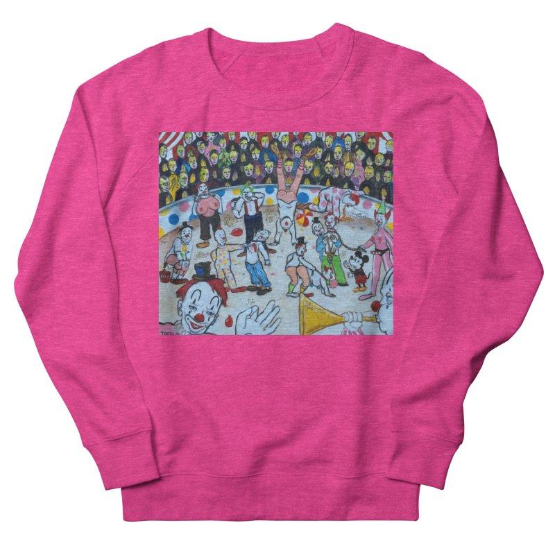 clowns Men's Sweatshirt by Jim Tozzi