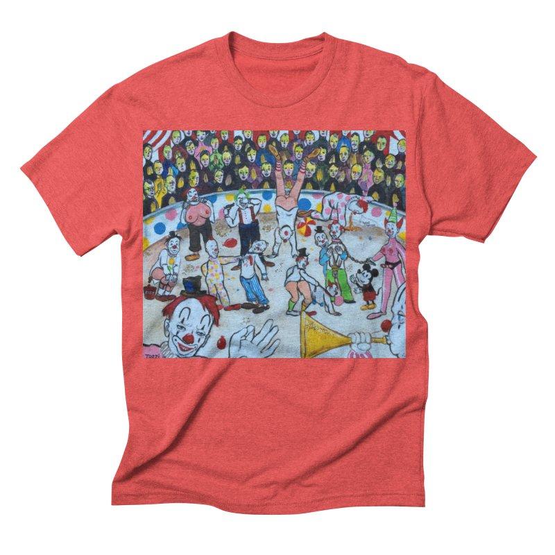 clowns Men's Triblend T-shirt by Jim Tozzi
