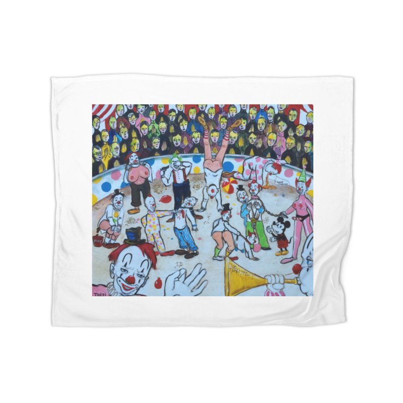 clowns Home Blanket by Jim Tozzi