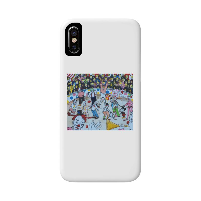 clowns Accessories Phone Case by Jim Tozzi