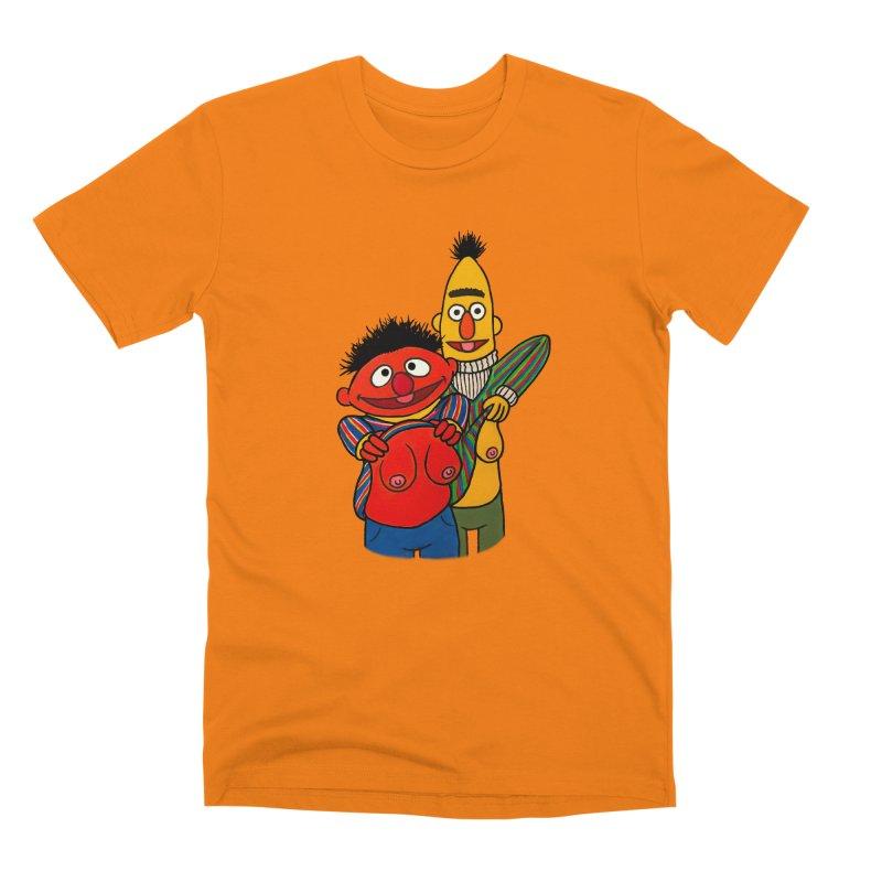 E and B flash Men's Premium T-Shirt by Jim Tozzi